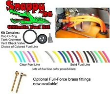SNAPPY FUEL LINE KIT (WITHOUT) FULLFORCE RC BRASS FITTINGS HPI BAJA 5B 5T 5SC
