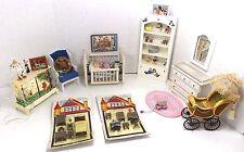 Dollhouse Miniature Baby Room Furniture