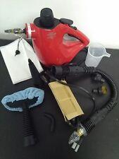 HAAN Allpro Handheld Steam Cleaner Sanitizer Dust Mite Killer Box w Attachments