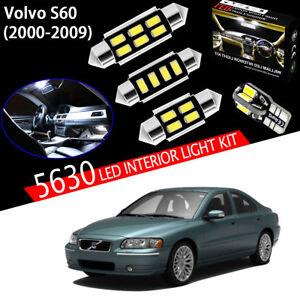17 Bulbs Xenon White 5630 LED For Volvo S60 Sedan 2000-2009 Interior Light Kit
