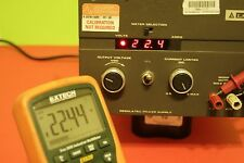 Lambda LQ-533 Regulated Power Supply, 0-60 Volt output, DC Power Supply
