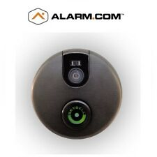 Alarm.com Wi-Fi Doorbell IP camera w/audio,adapter,mount-Bronze-#ADCVDB102