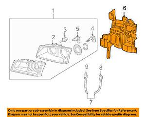 Chevrolet GM OEM Headlight Head Light Lamp-Support Bracket Right 15798922
