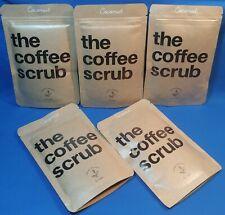 5X The Coffee Scrub ~ Coconut ~ Organic Feelings 100% Natural Recipe 50g ~ Five