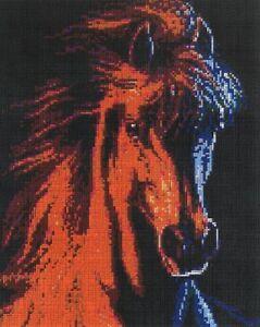 Mini Stecksystem Mustang ca.9.600 Teile mit XXL-Steckvorlage Nr. 41287