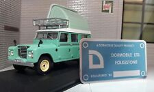 Dormobile Camper Chassis Plate VW Bay Bedford CA Land Rover Series 2a 3