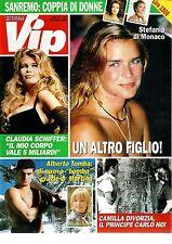 Gossip  VIP  n. 36  1995  NUOVO  Stefania di Monaco-Tomba-Camilla-Schiffer