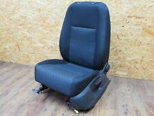 5N0881105D Driver's Seat Fabric Heated Seats Front Left Black Xln VW Tiguan I 5N