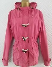 FAT FACE HOODED JACKET RAINCOAT SIZE UK 12 VERY GOOD CONDITION