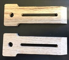 Two Red Oak Wood Hold Down Clamps Woodworking CNC Router Inventables