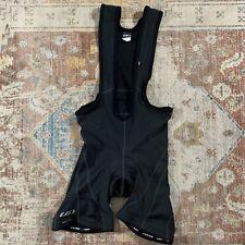 Louis Garneau Comp Triathlon Suit Men's XL Black Alveo 3K