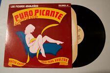 Los Picaros Abanjeńos Puro Picante Adult Nude XXX Record lp original vinyl album