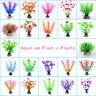 1pc Grass Aquarium Decoration Water Weeds Ornament Plastic Plant Fish Tank Decor