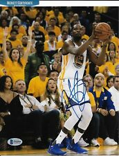 KEVIN DURANT signed CHAMPION GOLDEN STATE WARRIORS 8X10 photo w/ COA BECKETT