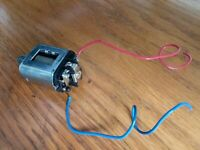 vintage Chrome 36D?Mabuchi Can Type Slot Car Motor w/Pinion- Cox?1960s