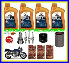 Kit Tagliando HONDA HORNET 600 00 Filtro Aria Olio Candele Pastiglie Freno 2000
