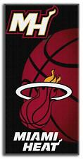 NBA Miami Heat Emblem Beach Towel, 28 x 58-Inch towels hot sun florida orlando B