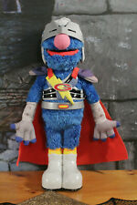 FLYING SUPER GROVER Sesame Street Talking Hero Animated plush 2011 Hasbro WORKS