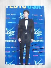 Lee Min Ho Korean Actor Signed 4x6 Photo Autograph hand signed USA Seller 10