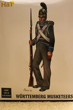 1/32 54mm Napoleonic Wurttemberg Jaeger Infantry Command 9316