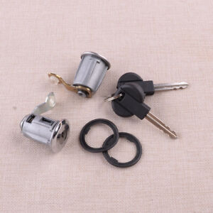2-Kit Door Lock Set Barrel Keys fit for Citroen Berlingo Xsara Peugeot Partner