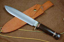 MARBLES LOVELESS BIG BOWIE KNIFE - MICARTA HANDLE - MADE IN GLADSTONE USA