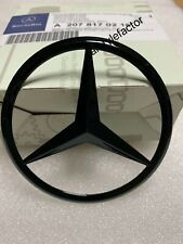Rear Boot Star Badge For Mercedes E Class W207 Coupe A2078170216 - Gloss Black