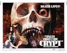 Tales from the crypt 1972 POSTER 02 A2 Box Toile imprimer
