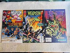 1995 Weapon-X #s 1/2/3/ (The Age of Apocalypse) NM+ 9.6