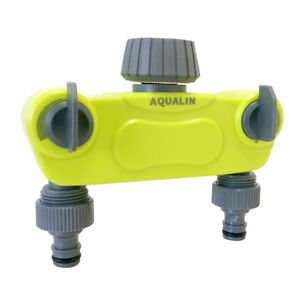 2/4Way Hose Splitter Plastic Connector Distributor with Copper Connector Outdoor