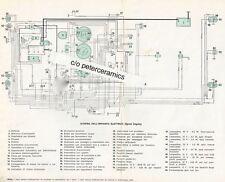 ✇ Original ALFA ROMEO Stromlaufplan Schaltplan Sprint Veloce Zagato Spider