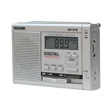 TECSUN DR-910 FM/MW/SW Radio Full-Band Digital World Band Radio s485