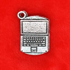 4 x Tibetan Silver Laptop Notebook Charm Pendant Finding 50 Shades of Grey