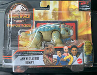2020 NEW WAVE Ankylosaurus Bumpy Jurassic World Attack Pack Camp Cretaceous