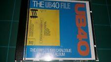 UB40 - THE UB40 FILE (CD COME NUOVO VIRGIN 1983)