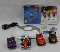 PS3 Disney Infinity - 2 Games, Board, 4 x Cars, 2 Tokens and a Trophy