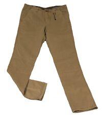 Tommy Hilfiger Chino Hudson Straight Fit Baumwolle braun Jeans Hose W 31 L 34