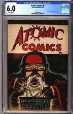 Atomic Comics 1 CGC 6.0 OW Detective Comics 8 Cover Homage