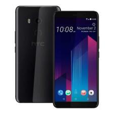 New Htc U11+ Plus 64Gb + 4Gb Ram Dual Sim Gsm Unlocked Smartphone Ceramic Black