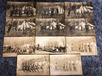 Lot of 11 Real Photo Postcards - 1904-18 AZO - All Hunting Images