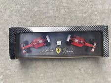 Ferrari 2001 F1 Schumacher + Barrichello Constructors Champions 1:43 Hot Wheels