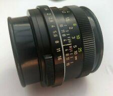 * Lens Zeiss West Germany Planar 1.4/50mm HFT For Rollei SL  Mint