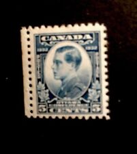 Canada SG 316 1932 5c Blue Mounted Mint