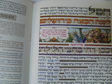 Arthur Szyk Shick Roth Haggadah Massada Alumoth Rare Red Felt Version Judaica