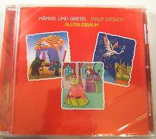 German Language Fairy Tale's Haensel & Gretel Audio Book CD Kalif Storch NEW