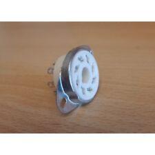 Zoccolo GZC8-1-A, octal ceramica da telaio/CHS con ghiera fissa, tipo 2