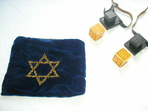 Tefillin T'fillin Tfillin Phylacteries very good - excellent condition