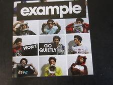 Example - Won't go quietly: 2010 Data S/E Open disc 2xCD (Pop, Rap)