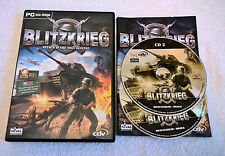 Blitzkrieg - Windows PC - Complete - CD-ROM - VGC
