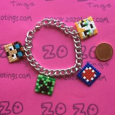 Pixel Bracelet (StampyLongNose iBallisticSquid & DanTDM)